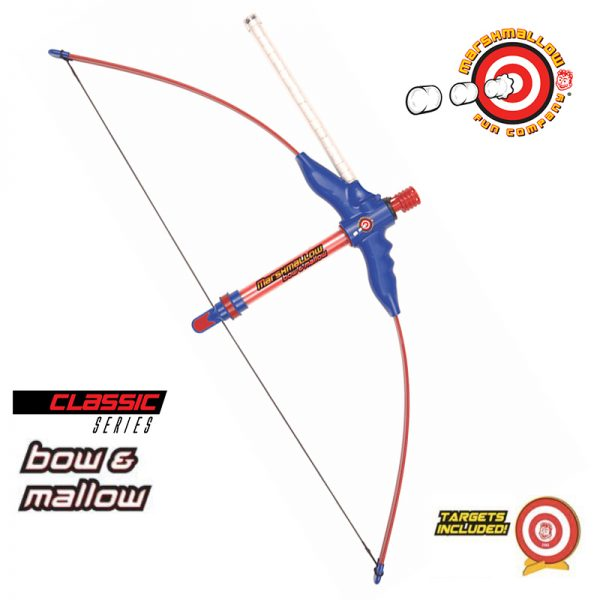 Classic Series Bow & Mallow Marshmallow Shooter