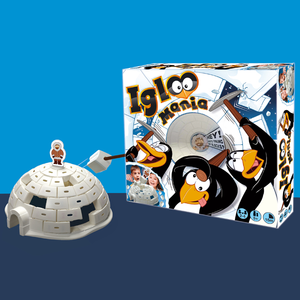 Igloo Mania – A game of skill and tension