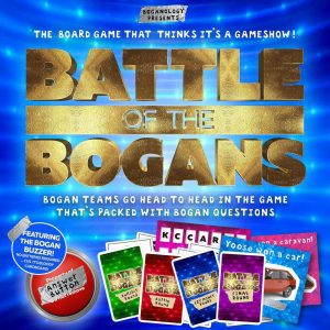 Battle of The Bogans Board Game