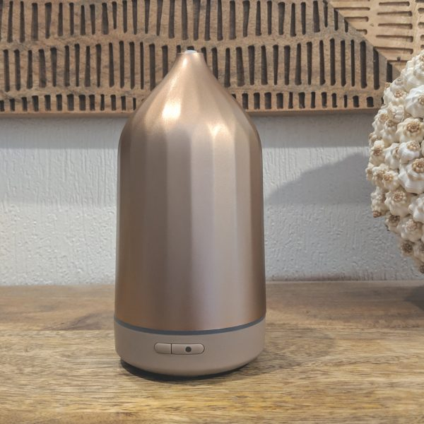 RIDGE Ultrasonic Aroma Diffuser | Rose Gold