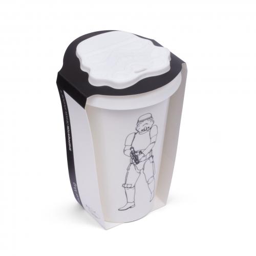 Original Stormtrooper – Ceramic Travel Mug – White