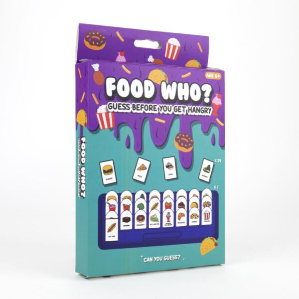 Fat Free Games – Food Who?
