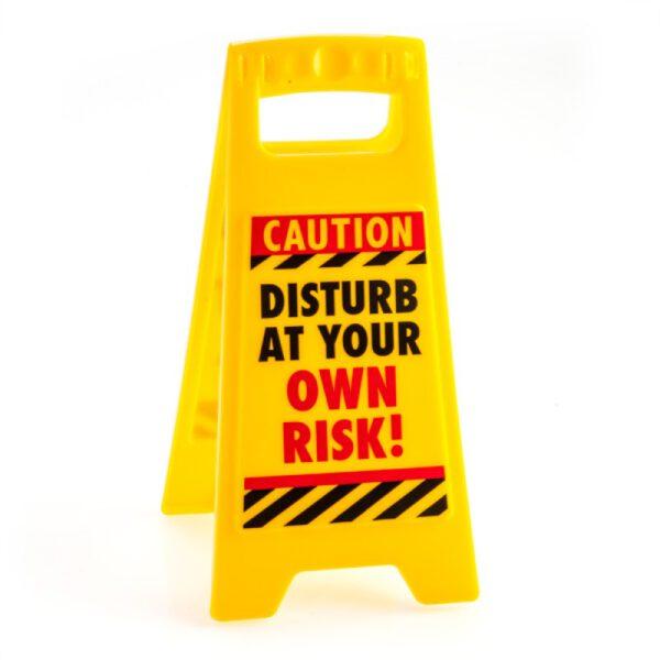 Old Git Novelty Warning Sign