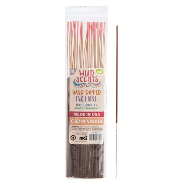 Wild Scents Cherry Vanilla Incense (40 pcs)