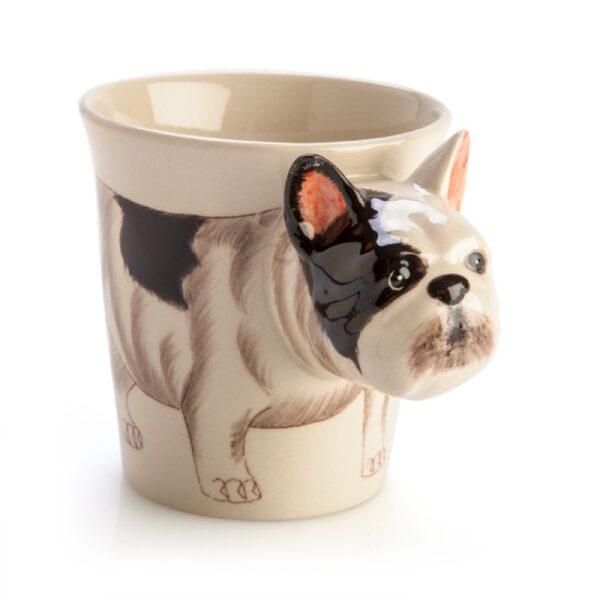 French Bulldog 3D Handle Mug