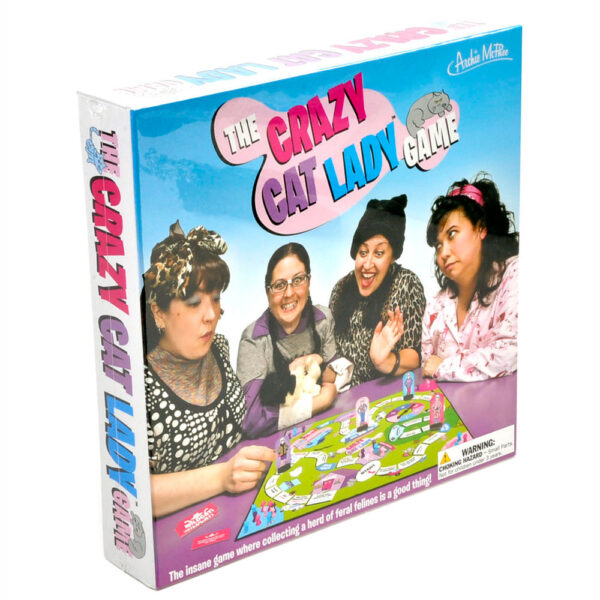 Archie McPhee The Crazy Cat Lady Board Game