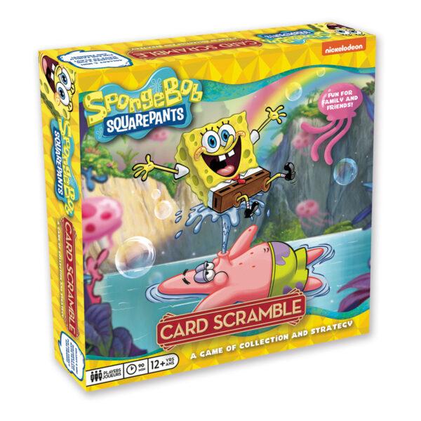 Spongebob Squarepants Card Scramble Game